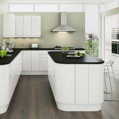 [ Planar White Kitchen Units Amp Cabinets Magnet Kitchens ] - Best Free Home Design Idea & Inspiration Home Decor Kitchen, New Kitchen, Home Kitchens, Kitchen Ideas, Modern Kitchens, Kitchen Designs, Fitted Kitchens, Luxury Kitchens, Kitchen Layout