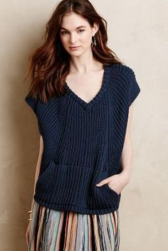 #anthroregistry Field Flower by Wendi Reed Seaworthy Pullover