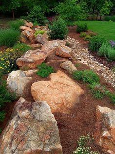 Many beautiful pics for rock gardens inspiration