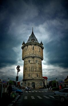 water tower - at Turnu Severin.