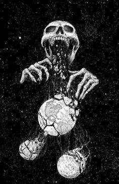 Art by Mark Riddick.