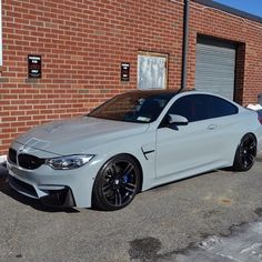 @metrorestyling • Gloss Grey #BMW M4 via @631coatings •MetroRestyling.com For Your Wrap Material