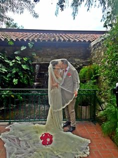 """It's a nice day for a wet wedding! Berenice and Gabriel got married at Luminarias in Monterey Park. It was a rainy day and Gabriel asked me """"What if starts raining? Got Married, Getting Married, Monterey Park, Restaurant Wedding, Marriage License, Do Not Fear, Us Beaches, Price List, Beach Weddings"""