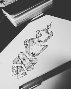 Tattoo project : Twin Peaks on Behance                                                                                                                                                      More