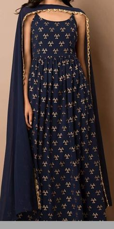 Best Kurti Designs Collection For Summer - Kurti Blouse Casual Indian Fashion, Indian Bridal Fashion, Indian Attire, Indian Ethnic Wear, Dress Indian Style, Indian Dresses, Ethnic Outfits, Indian Outfits, Indian Designer Outfits