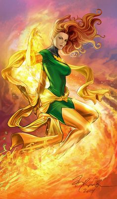 Phoenix Fire! by TyRomsa.deviantart.com on @deviantART