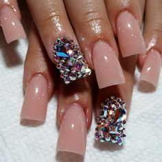 Summer Acrylic Nails To Try This Summer 2018 – fashionist now – Nail Inspirations - NailiDeasTrends Duck Flare Nails, Flare Acrylic Nails, Duck Nails, Summer Acrylic Nails, Minimalist Nails, Nail Swag, Fabulous Nails, Gorgeous Nails, Feet Nails