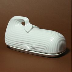 Jonathan Adler Whale Butter Dish. Overpriced but I like looking at it.