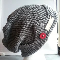 044b82dc598 Jughead Jones Crown Riverdale Handknit Jughead Slouchy Style Hat Medium  Grey Teen to