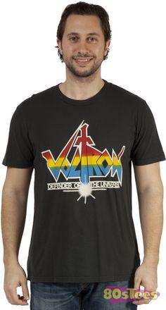 Voltron original show logo.