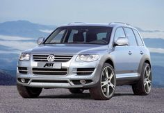 VW Touareg..great for a family :)