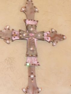 Stacked handmade cross!