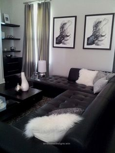 Black And White Living Room Interior Design Ideas Home Sweet Home