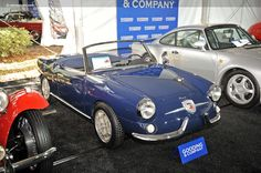 Photographs of the 1959 Abarth Spider. An image gallery of the Fiat Spider, James Bond Cars, Fiat Abarth, Amelia Island, Italian Style, 2 In, Vintage Cars, Transportation, Classic Cars