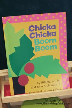 gage has been reading chicka chicka boom boom in class for the past week and LOVES it.  this site has some great craft ideas to go along with the book.  i think i must try some!