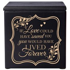 Cremation Urn for Human Ashes/Keepsake Box for Pet Ashes