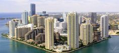 Check out Brickell by day and night