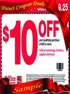 have direct office depot coupon deals