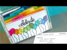 Video: Birthday Index Card Box + Blog Hop + GIVEAWAY | Jennifer McGuire Ink