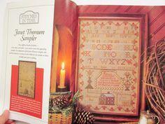 Sampler & Antique Needlework Quarterly Vol. 4 1991 by craftitis2