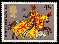 Robert the Bruce on Stamp