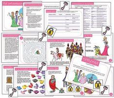 Kant en klare speurtochten :Speurtocht prinsessenfeestje