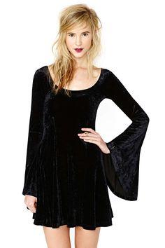 Betsey Johnson Spellbound Velvet Dress | Shop Vintage at Nasty Gal