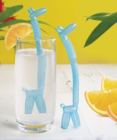 Look what I found on #zulily! Giraffe Straw Set by Paladone #zulilyfinds