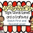 A fun and interactive way to consolidate learning on Dolch sight words! Great for centres,this pack contains the Popcorn game, Write the Room and Bingo as well as assessment sheets!