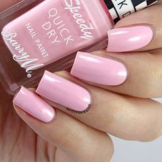 Barry M Speedy Quick Dry Collection Swatches and Review