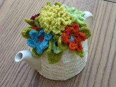 46 Cup Crochet Tea Cosy Tea Cozy/ by andrealesleycrochet on Etsy, $38.00