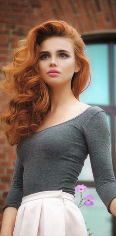 Hairy redhead mature esmerelda