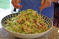 Rotisserie Chicken Chopped Salad with Sweet Mustard Vinaigrette