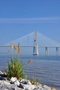 Vasco da Gama bridge www.facebook.com/Lisboninformation