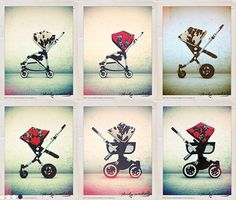 Bugaboo Teams Up With Andy Warhol For An Artistically Chic Baby Stroller