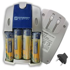Nikon Coolpix L810 Digital Camera Battery Charger Replacement of 4 AA NiMH 2800mAh Rechargeable Batteries, with Charger