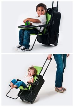 No more having to carry your toddler AND luggage through a seemingly endless airport terminal. Get one here for $49.99.