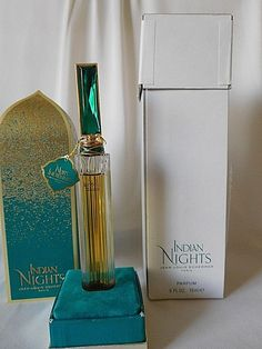 Vintage Jean Louis Scherrer INDIAN NIGHTS  0.5 oz / 15 ml Parfum /Perfume Sealed #JeanLouisScherrer