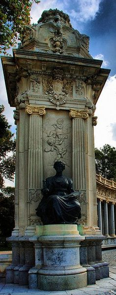 ~Monument at the Retiro Park, Madrid, Spain | House of Beccaria