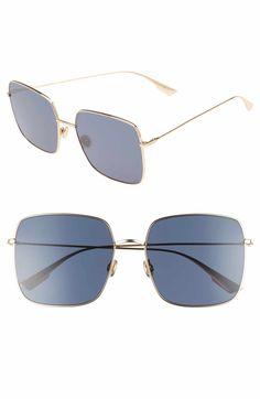 66e96eb4f65ff Dior Stellaire 1 59mm Square Sunglasses Latest Sunglasses