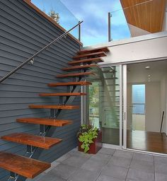 Outside staircase design ideas
