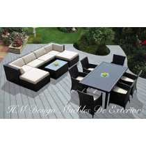 Astonishing White U Shape Outdoor Sectional In Inspiring Patio Furniture  Decors Feat Patio Modern Dining Sets In Modern Small Patio Deck Decors Plans