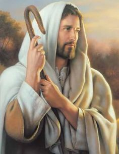 Bela foto de Jesus, o bom Pastor   fotodejesus.com.br