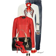 """""""Casual And Chic For Fall Contest"""" by sherryvl on Polyvore"""