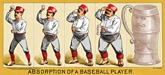 Absorption Of A Baseball Player  By Maria Coulson