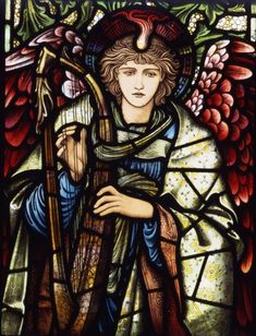 Edward Burne-Jones - Praising Angel (1902)