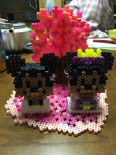 結婚式用☆桜の木☆立体ミッキー&ミニー