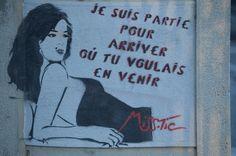 Miss.Tic sur les murs d'Arles
