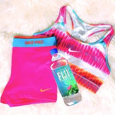 run wear from nike with fiji water