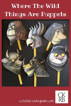 Where The Wild Things Are — Cute Kids Reading Books
